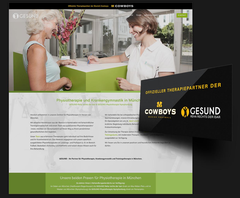 Webseiten, Firmenschilder