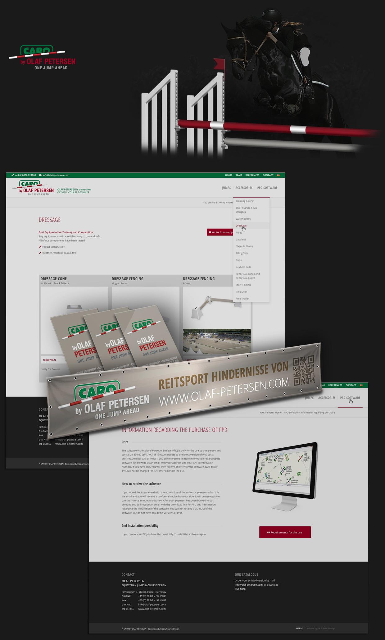 Responsive Internetseite, Printprodukte